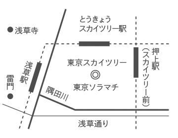 京東都 東京スカイツリータウン・ソラマチ店のアクセス